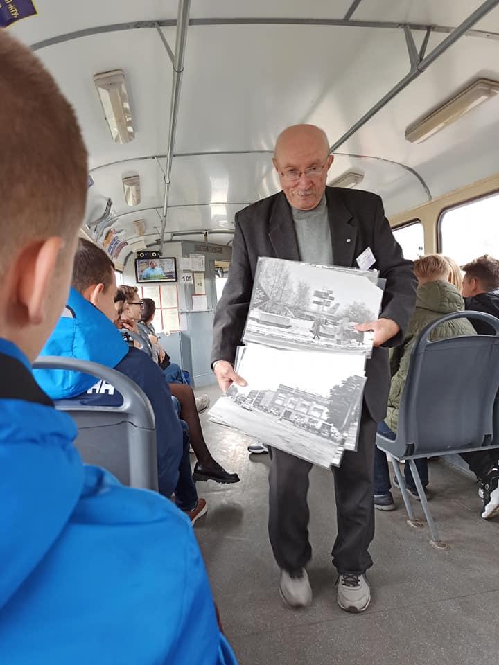 Трамвайна екскурсія «Подорож рідним містом»