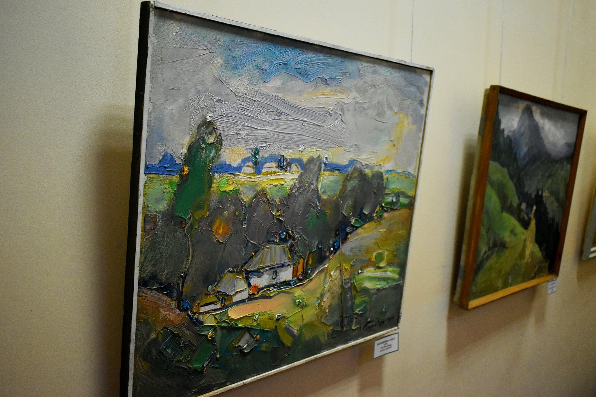 Виставка творів живопису пленеру «Барви Малевича»