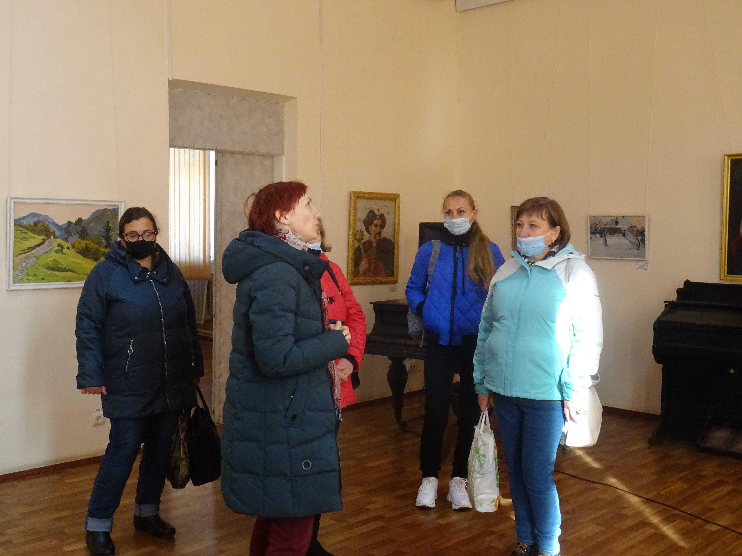 Художня виставка творів Олександра Гофмана та його учнів з фондової колекції музею
